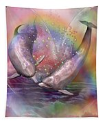 Love Bubbles Tapestry