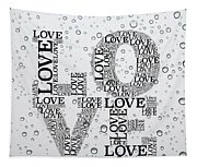 Love Droplets Tapestry