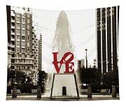 Love In Philadelphia Tapestry