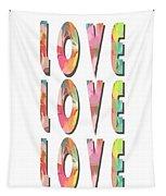 Love Love Love Phone Case Tapestry