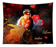 Love Takes Flight Tapestry