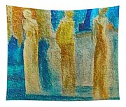 Love Triangle Tapestry