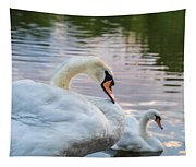 Lovely Couple Tapestry