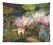 Lovely Waterlilies 7 Tapestry