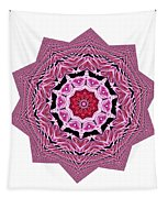 Loving Rose Mandala By Kaye Menner Tapestry
