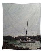 Low Tide Mooring Tapestry