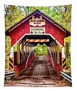 Lower Humbert Covered Bridge 5 Tapestry