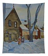 Lowertown Scene No. 2 Tapestry