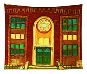 Lubavitch Synagogue Tapestry