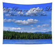 Luby Bay On Priest Lake Tapestry
