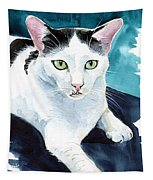 Lucky Elvis - Cat Portrait Tapestry