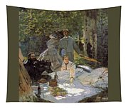 Luncheon On The Grass, Centre Panel Tapestry