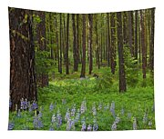 Lupine Carpet Tapestry