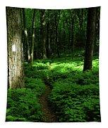 Lush Green At 2 Tapestry
