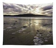Luskentyre Beach Sunset Tapestry