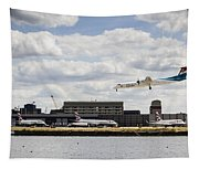 Lux Air London City Airport Tapestry