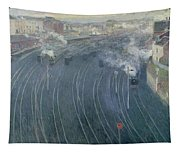 Luxembourg Station Tapestry