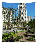Luxury High Rise Apartments Tapestry