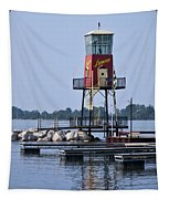 Lyman Harbor Lighthouse Tapestry