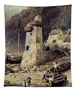 Lynmouth In Devonshire Tapestry