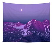 M05413 Moonrise Over Broken Top Tapestry