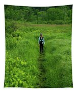 Ma At Section Hiker Tapestry