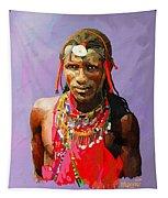 Maasai Moran Tapestry