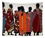Maasai Women Tapestry