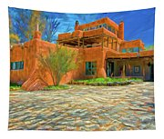 Mabel Dodge Luhan House As Oil Tapestry
