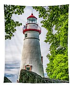 Mablehead Light From The Rocks Tapestry
