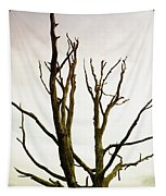 Macabre Leafless Tree Tapestry