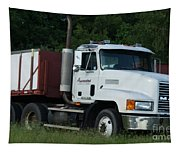 Mack Truck One Of The Legends Tapestry