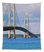 Mackinac Bridge Tapestry