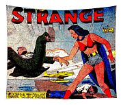 Madame Strange Female Comic Super Hero Tapestry