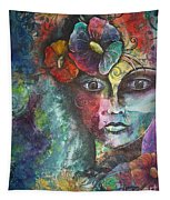 Madamoiselle By Reina Cottier Tapestry