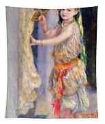 Mademoiselle Fleury In Algerian Costume Tapestry