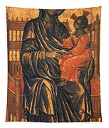 Madonna Icon, 13th Century Tapestry
