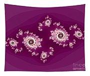 Magenta Galaxies Tapestry