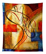 Magic Saxophone Tapestry