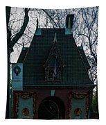 Magical Christmas Biltmore Entrance Tapestry