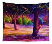Magical Day In The Park Tapestry