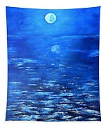 Magical Full Moon Tapestry