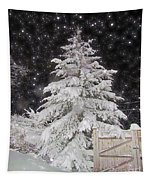 Magical Nighttime Snow Tapestry