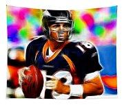 Magical Peyton Manning Borncos Tapestry