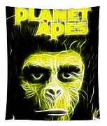 Magical Planet Of The Apes Tapestry