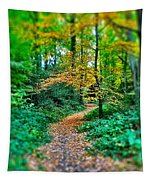 Magical Woodland Walk Tapestry