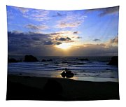 Magnificent Bandon Sunset Tapestry