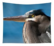Magnificent Blue Heron Tapestry