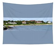 Magnificent Homes Along Cliff Walk Tapestry