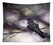 Magnificent Hummingbird Tapestry